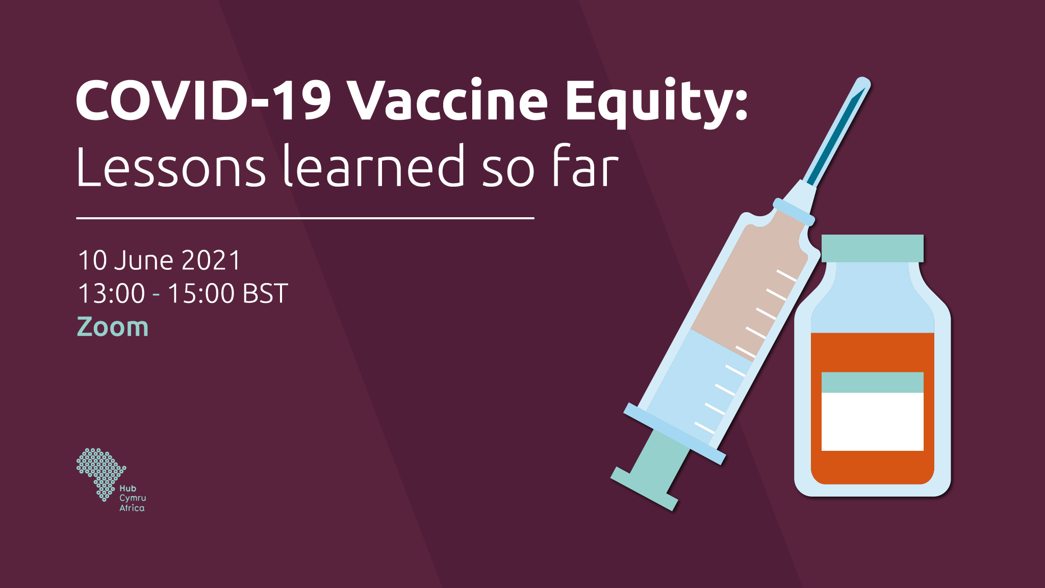 EVENT - COVID-19 Vaccine Equity: Lessons learned so far