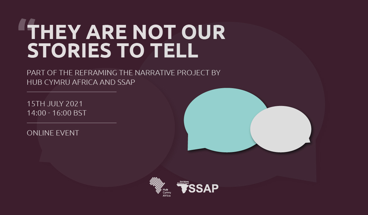 They are not our stories to tell - part of the reframing the narrative project